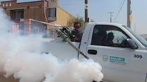 Truck Spraying Poison