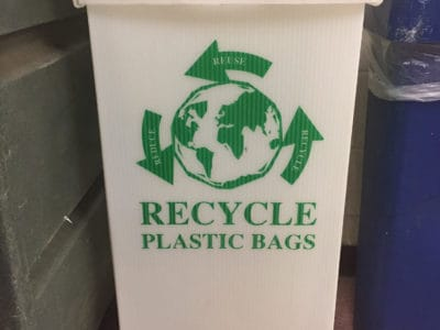Plastic Bag Recycle Bin