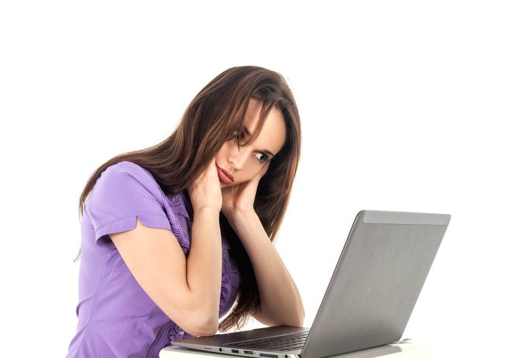 Headache at computer