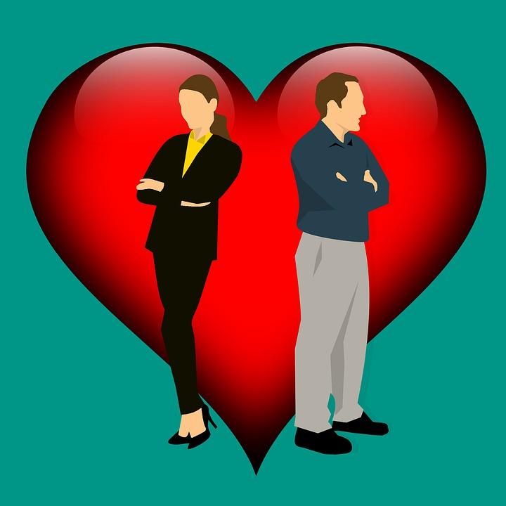 Couple - Relationship Separation Arguing Divorce