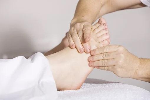 reflexology of the foot
